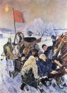 Пластов Аркадий Александрович (1893-1972) «На выборы»