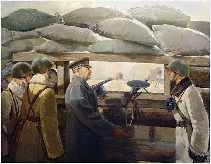Аладжалов (Аладжалян) Семен Иванович (1902-1987). «Так рождалась Победа. Москва. 7 ноября 1941 года» (1949)