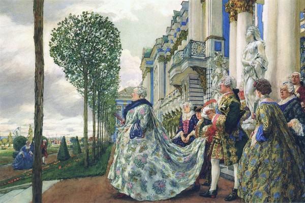 Елизавета Петровна в Царском селе157328_600