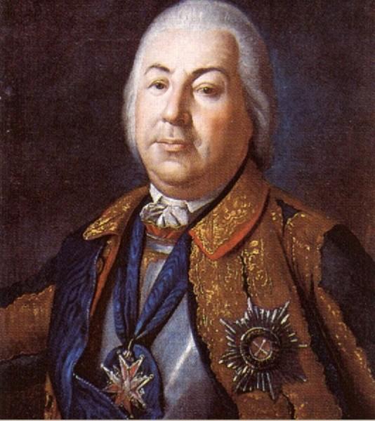 Граф П.С.Салтыков. 1760.112342_600