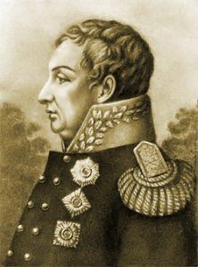 Кутузов в 1805 году. С портрета художника С. Карделли