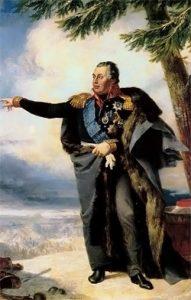 Портрет М.И. Кутузова. Художник Дж. Доу