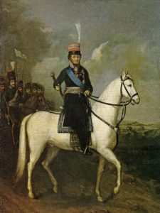 -художник. Портрет Платова М.И. на коне.1810.Холст, масло. 57,5х44.preview