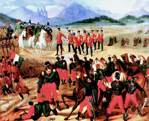 Капитуляция венгерской армии под Вилагошем