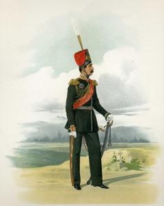 Генерал-адъютант, числящийся в казачьих частях (в парадной форме). 18 марта 1855 г.