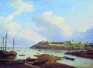 Нижний Новгород в 1838 г. на картине Чернецова