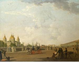 Вид на Свято-Николаевский собор. Б. Патерсен