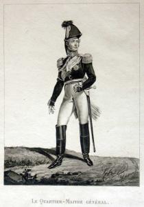 Лев Киль. Форма генерала-квартирмейстера эпохи Наполеоновских войн