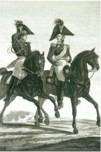 Генерал и адъютант пехоты. Л. И. Киль. 1816 г.