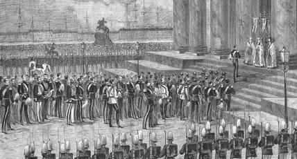 Освящение Исакиевского собора в С.-Петербурге 30 мая 1858 года. История царствования императора Александра II в картинах