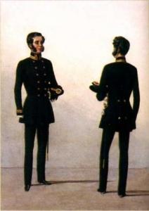 Мундир гражданских чиновников генеральского ранга. 2 февраля 1856 года. (Л. Шепелёв «К шитью кафтанов приступить тотчас»)