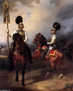 Franz-Kruger-Two-Cuirassiers-from-the-Regiment-of-Czar-Nicholas-I-2--240x300