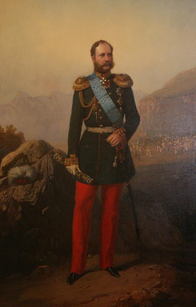 Неизвестный художник. Портрет А.И. Барятинского.