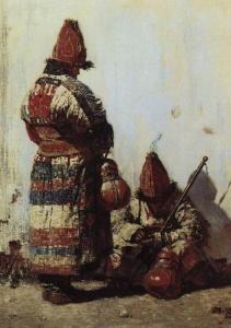 Узбек – продавец посуды1873. Василий Верещагин. – М., 2000