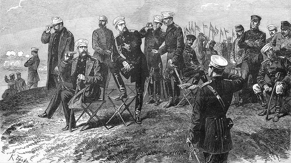 Верещагин Василий Васильевич [1842—1904] Александр II под Плевной.