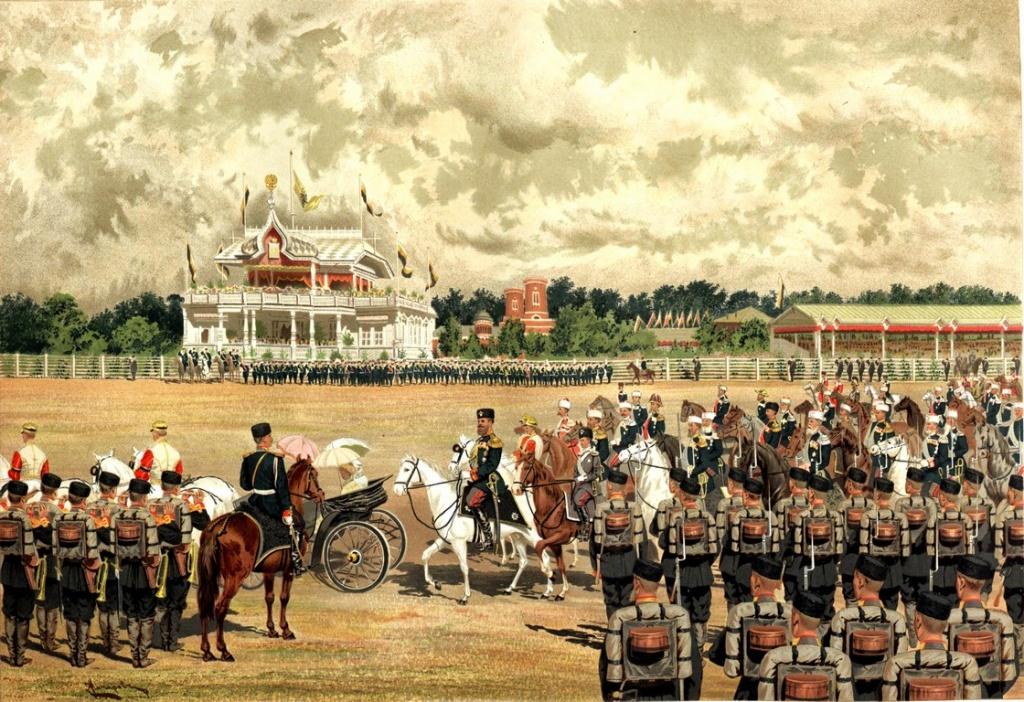 Макаров Иван Кузьмич (1822—1897) Прибытие государя на парад.