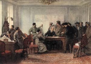 Орешников. В штабе обороны Петрограда. Ноябрь 1917 г.(1949 г.)