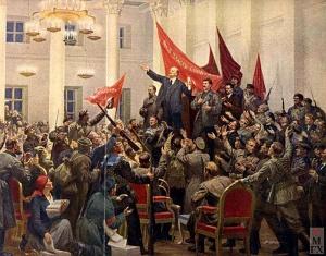 2-ой съезд Советов. (7 — 9 ноября 1917 г.). Соколов-Скаля. 1953 г.