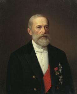 Николай Христофорович Бунге. Портрет работы И. Тюрина, 1887