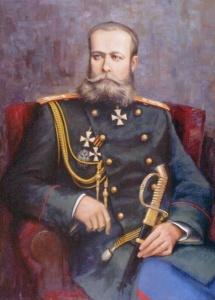 В. Мирошниченко. Портрет генерала М.Д. Скобелева