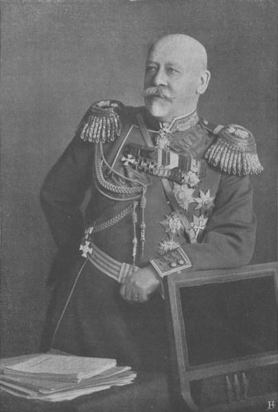 В. А. Сухомлинов. Ист. изобр.: Сто великих тайн Первой мировой. Тайна дела Сухомлинова