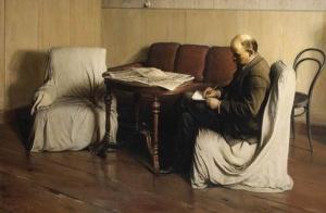 В.И.Ленин в Смольном. Бродский Исаак Израилеви