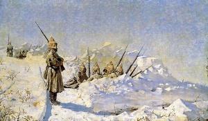 В.В. Верещагин. Русские позиции на Шипке