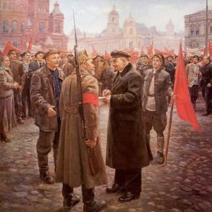 Ленин в 1919 году. Налбандян Дмитрий Аркадьевич (1906 - 1973)