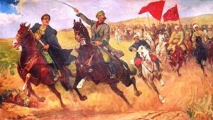 А. Варшавский. Наступление кавалерии