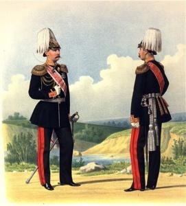 Губарев П. К. Генерал-Адъютант числящийся в Гвардейских Кирасирских полках и Генерал состоящий по Пехоте. 1874 г.