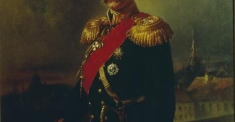 Маковский К.Е. (1839-1915). Портрет К.П. Кауфмана. 1866 г. Х., м.