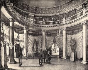 Посещение императором Александром I Публичной библиотеки 2 января 1812 года