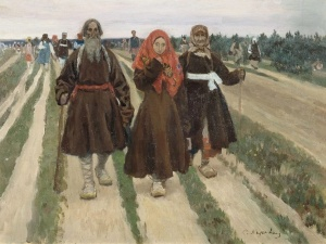 Коровин Сергей Алексеевич К Троице 1902