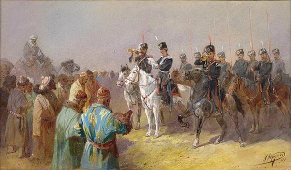 Объясачивание средней киргиз-кайсацкой орды. Николай Каразин, 1891 год