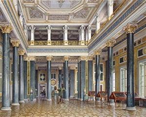 Зал монет и камей(новый Эрмитаж). В. С. Садовников (1800-1879)