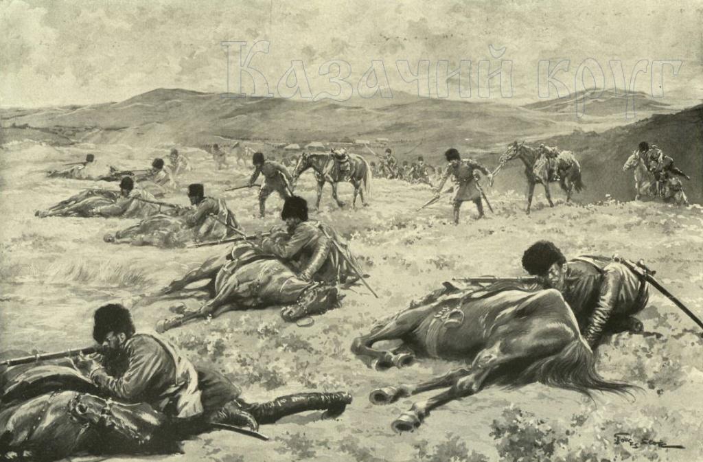 Отражение атаки. Казаки в Русско-японской войне 1904-1905 г.г.