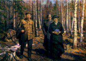 Н. Сысоев. В день рождения В.И.Ленина