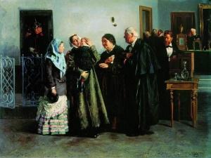 Оправданная. 1882. Маковский Владимир Егорович (1846 - 1920)