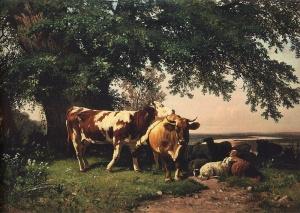 Стадо под деревьями. Иван Иванович Шишкин (1832—1898)