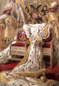 Маковский К.Е. Императорские регалии. ОПИСАНИЕ КОРОНОВАНИЯ АЛЕКСАНДРА III