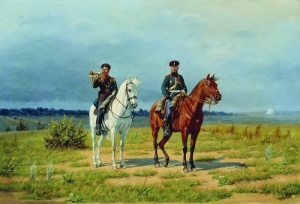 Трубач и офицер гвардейской конной артиллерии периода 1882–1906 годов. БУНИН НАРКИЗ НИКОЛАЕВИЧ 1856-1912
