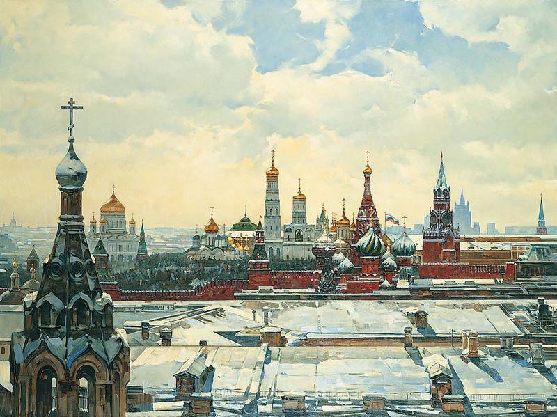 Вид на Кремль. Худ. Нестеренко В.И.