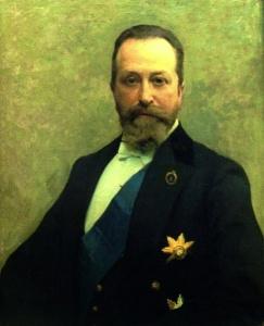 Эмиль Визель. Портрет министра финансов Российской империи графа В.Н.Коковцева. 1911