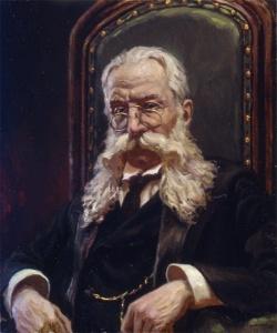 Портрет И.Л. Горемыкина. 1998. Х.м. Худ. Сергей Кириллов