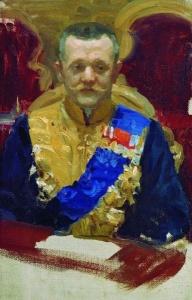 Николай Валерианович Муравьёв. Б.М. Кустодиев