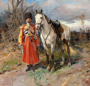 Самокиш Николай Семенович. «Солдат имперской охраны»