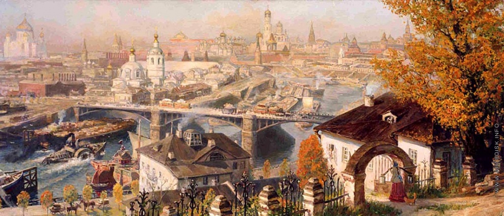 Вид Москвы со Швивой горы. Конец XIX века. Киселев Кирилл Валентинович [1976]