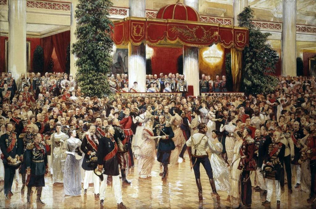 Дмитрий Николаевич Кардовский Бал в Петербургском Дворянском собрании 23 февраля 1913 года