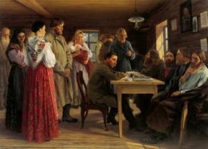 Михаил Иванович Зощенко. Волостной суд. 1888