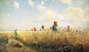 Г.Г. Мясоедов, «Страдная пора (Косцы)», 1887, Государственный Русский музей, Санкт Петербург